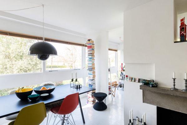 1950s modernism: Stirling & Gowan-designed apartment in Langham House Close, Richmond, Surrey