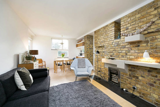 Apartment in the 1950s Stirling & Gowan Langham House Close in Richmond, Surrey