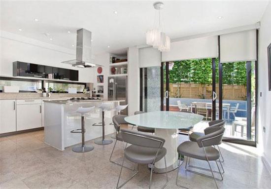 Alan Camp-designed four-bedroom contemporary modernist property in London, SE3