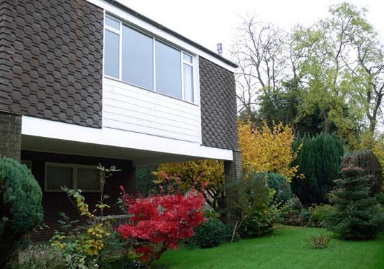 1960s Patrick O'Keefe-designed Highland house in Langley, Kent