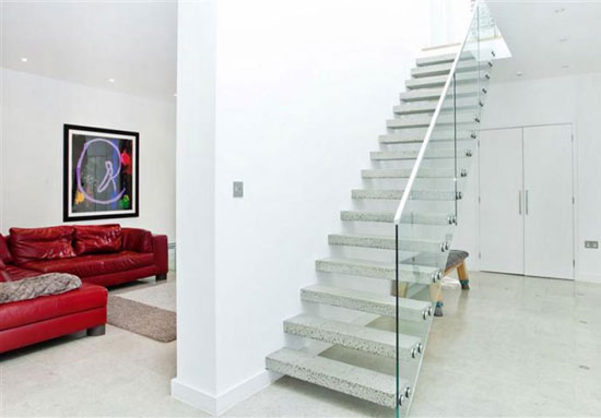 Alan Camp-designed four-bedroom contemporary modernist property in London, SE3