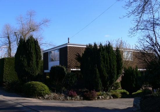 1960s Patrick O'Keefe-designed Highland house in Langley, Kent
