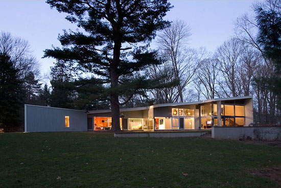 On the market: 1950s Marcel Breuer-designed The Lauck House in Princeton, New Jersey, USA