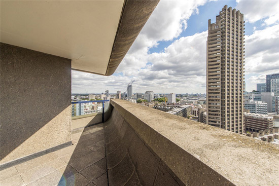 Apartment in Lauderdale Tower on the Barbican Estate, London EC2Y