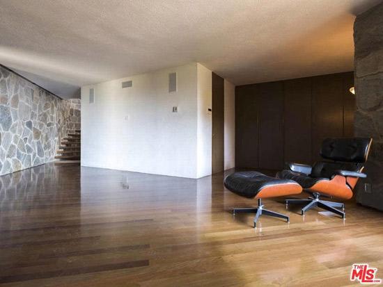 John Lautner's 1960s Wolff Residence in Los Angeles, California USA
