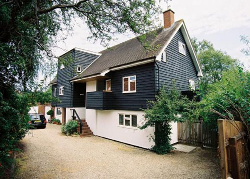 On the market: 1970s The Island House in Lavenham, Suffolk
