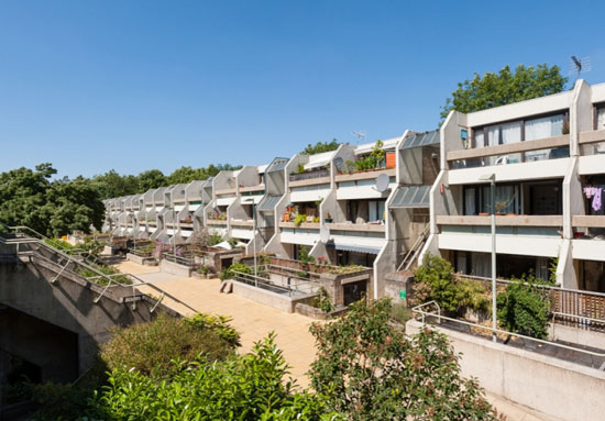 On the market: 1970s Peter Tabori-designed one-bedroom brutalist apartment on the Whittington Estate, London N19