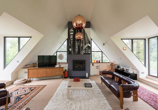 Paul Hammond-designed contemporary, modernist property in Lavenham, Suffolk