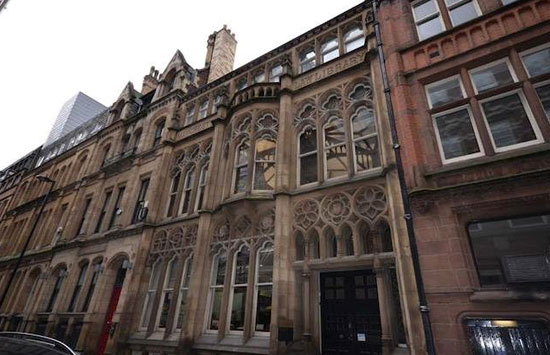 On the market: 19th century Thomas Hartas-designed law library in city centre Manchester