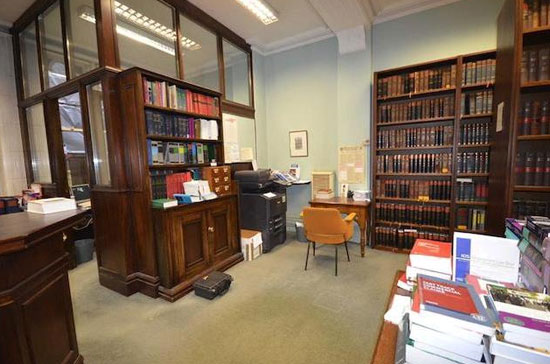 19th century Thomas Hartas-designed law library in city centre Manchester