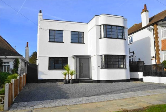 on the market 1930s art deco property in leigh on sea essex wowhaus