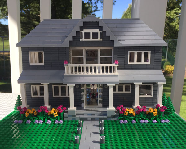 Get a Lego replica go your home with Little Brick Lane
