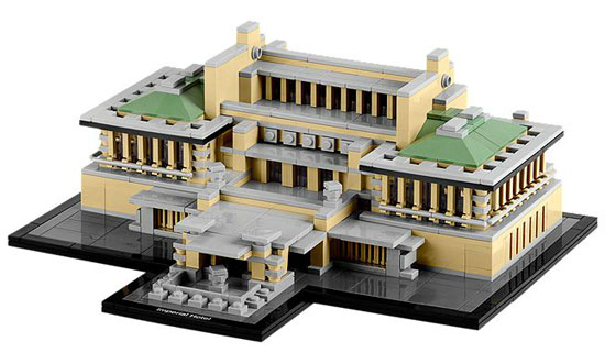 Frank Lloyd Wright's Imperial Hotel now available as a Lego Architecture set