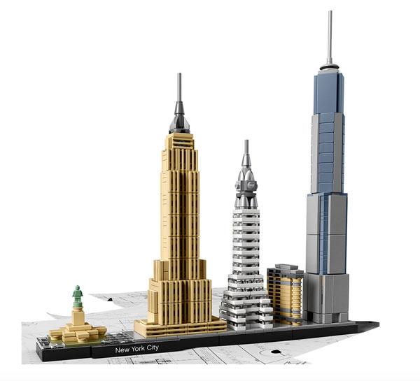 16. Lego Architecture New York