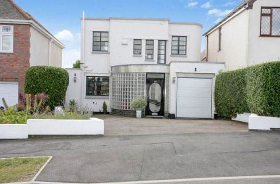 Three-bedroom 1930s art deco property in Earl Shilton, Leicestershire