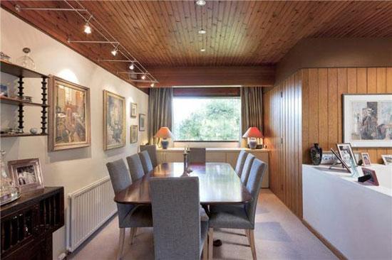 1960s Morris & Steedman-designed four-bedroom modernist property in Ravelston, Edinburgh, Midlothian