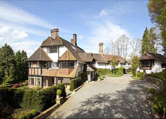 Kenwood Mansion on the St George's Hill Estate, Weybridge, Surrey