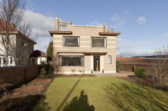 On the market: Obertal B-listed 1930s art deco house in Leven, Fife, Scotland (price update)