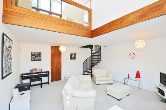 On the market: 1970s Ted Levy-designed modernist townhouse in West Hill Park, London N6