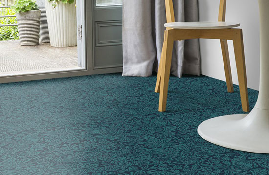 Design spotting: Liberty print carpets and rugs by Alternative Flooring