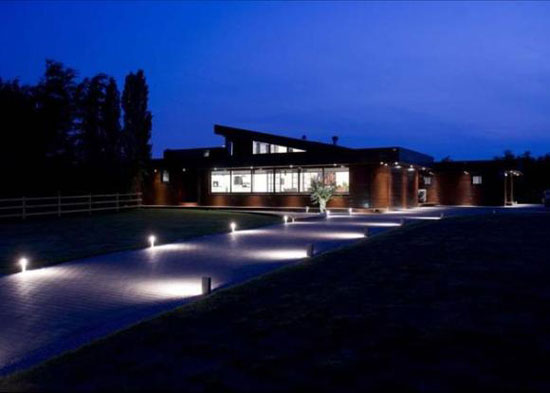 On the market: Four-bedroom contemporary modernist property in Lichfield, Staffordshire