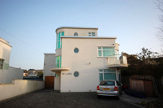1930s art deco house in Lilliput, Poole, Dorset