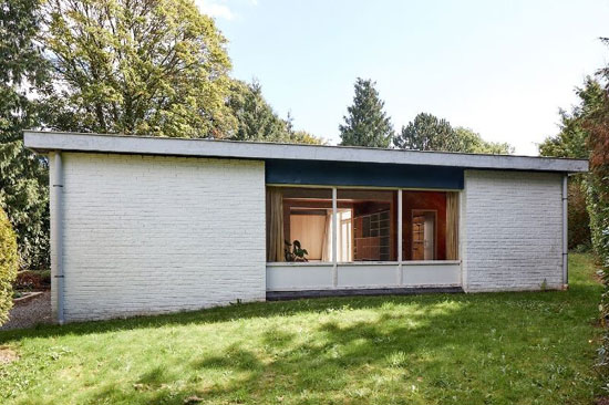 1950s Willy Van Der Meeren time capsule in Linkebeek, Belgium