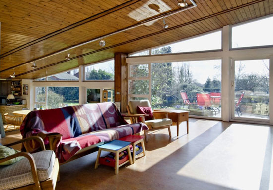 Four-bedroom 1960s midcentury modern property in Thorpe on the Hill, Lincolnshire