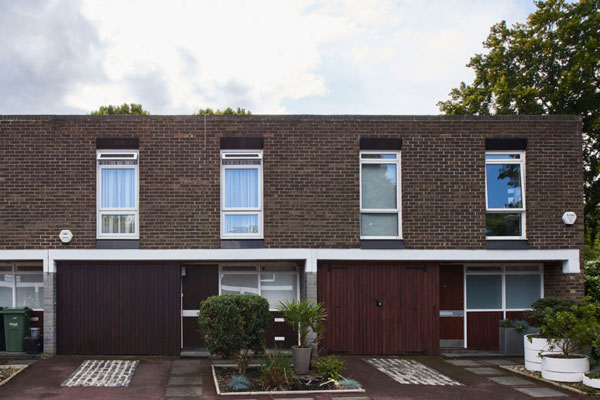 1960s modernism: Austin Vernon and Partners-designed property on the Dulwich Estate, London SE21