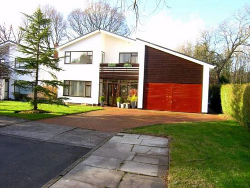 Scandinavian-style four-bedroomed house in Lisvane, Cardiff, South Wales