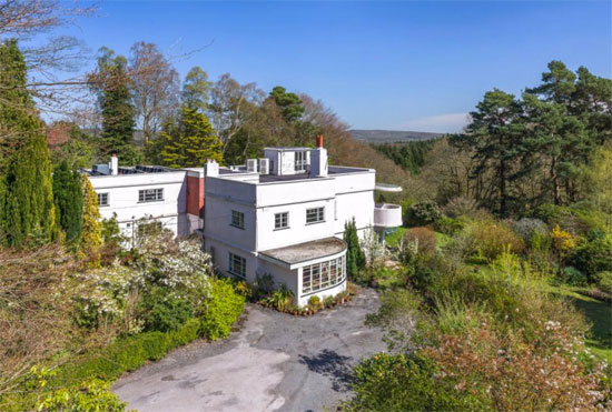 1930s art deco house in Liss, Hampshire