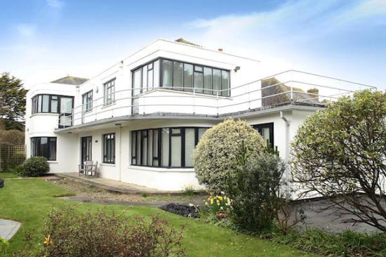 Four-bedroom 1930s art deco property in Rustington, West Sussex