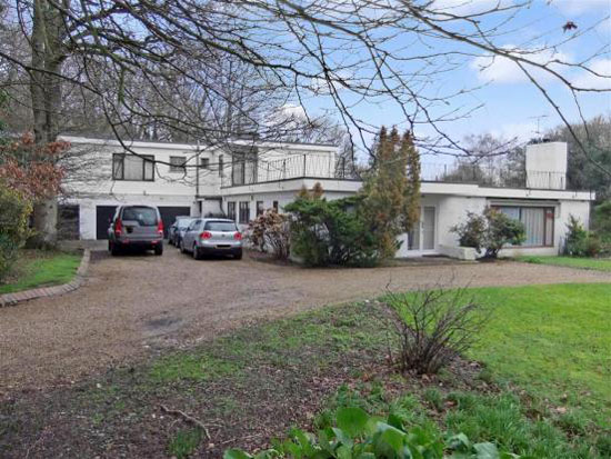 In need of renovation: 1960s four-bedroom modernist property in Town Littleworth, near Lewes, East Sussex