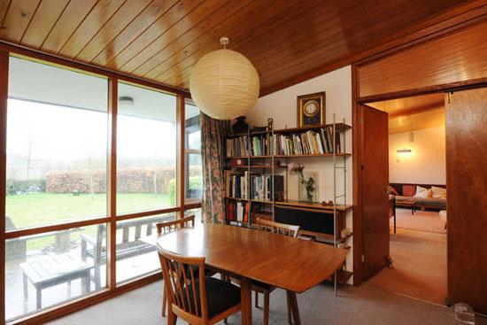 Bumbles 1960s modernist property in Little Bealings, near Woodbridge, Suffolk