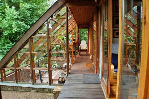 Five-bedroomed Scandinavian-style lodge in Redmarley, Gloucestershire