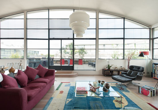 On the market: Three-bedroom penthouse at Chiswick Green Studios, London W4