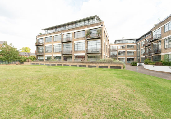 Three-bedroom penthouse at Chiswick Green Studios, London W4