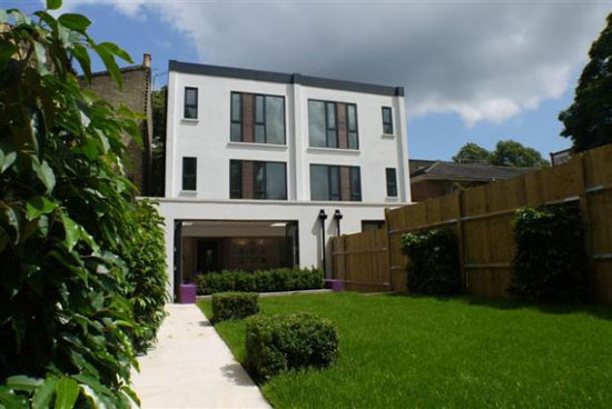 On the market: Four-bedroom contemporary modernist semi-detached house in London SE15
