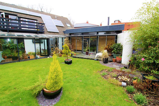 1960s modernist property in Longton, Lancashire