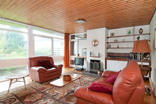 1960s architect-designed bungalow in Longniddry, East Lothian, Scotland