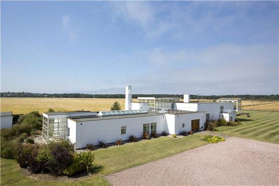 Lysander House converted World War 2 radar station in North Berwick, East Lothian