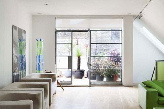 Ross Lovegrove's home and work space in London W11