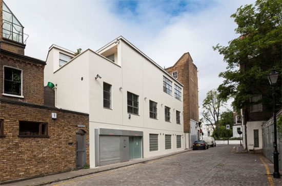 On the market: Ross Lovegrove's home and work space in London W11