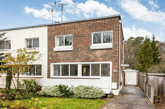 In need of renovation: 1930s Berthold Lubetkin-designed modernist property in Haywards Heath, West Sussex