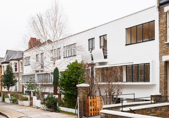 On the market: 1930s Berthold Lubetkin-designed five-bedroom modernist property in London SE18