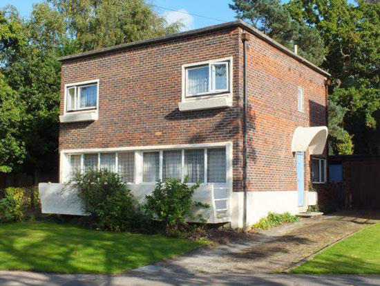 On the market: 1930s Berthold Lubetkin-designed grade II-listed modernist property in Haywards Heath, West Sussex