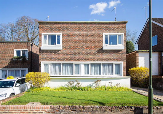 1930s Berthold Lubektin modern house in Haywards Heath, West Sussex