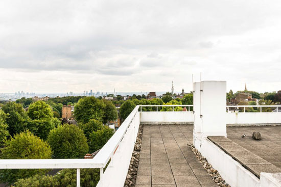 1930s modernism: The Lubetkin Penthouse in the Highpoint II building, London N6