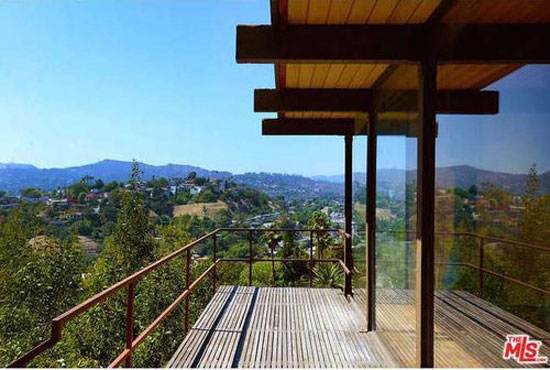 1960s Raul Garduno-designed hillside midcentury property in Los Angeles, California, USA