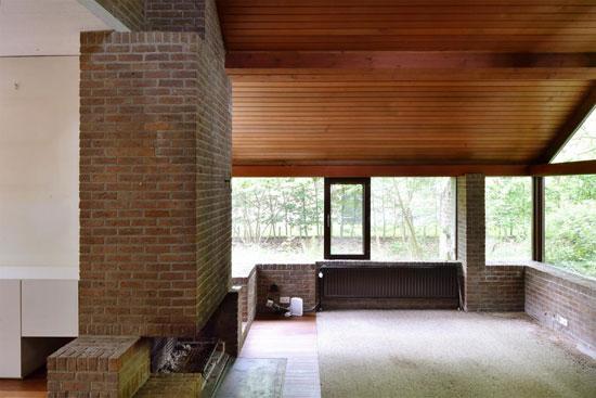 1970s Lode Wouters modernist time capsule in 's-Gravenwezel, Belgium